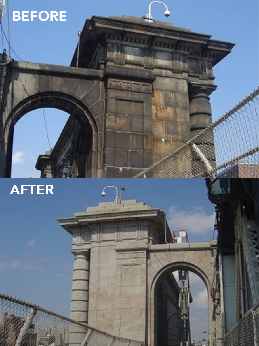 Manhattan Bridge, New York TruAbrasives