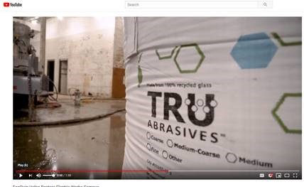 Resources - Tru Abrasives - A Clean Crushed Glass Abrasive, Made